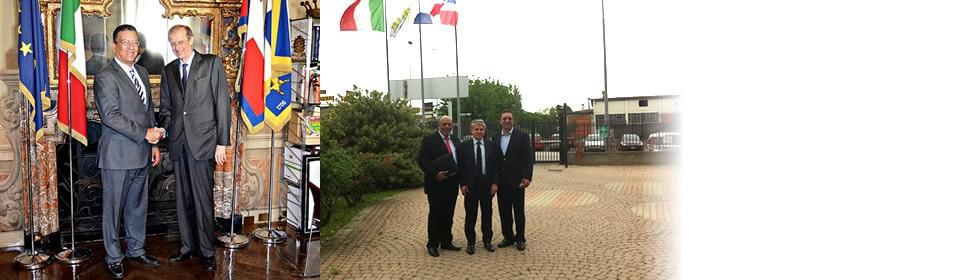 Visita in Italia del Segretario della Liga Municipal della Repubblica Dominicana – Ing. Jhonny Jones